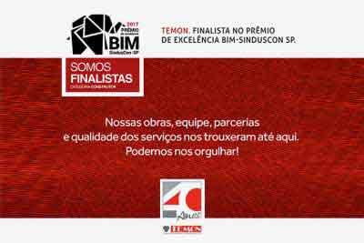 Somos finalistas do Prêmio SindusCon-SP 6